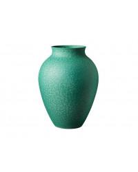 Knabstrup Vase H20 cm. Irgrøn