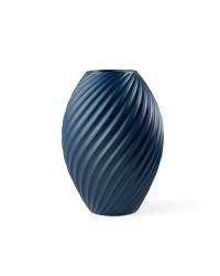 Morsø River Vase H26 cm. Mat Blå