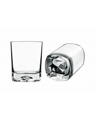 Strauss Rocks vandglas/whiskyglas 40 cl. 4 stk.