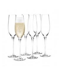 Holmegaard Cabernet Champagneglas 29 cl. 6 stk.