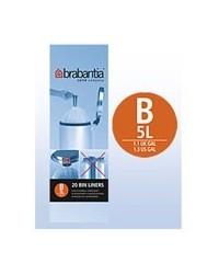 Brabantia Affaldspose 5L - 20 stk.