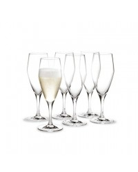 Holmegaard Perfection Champagneglas 12,5 cl. 6 stk.