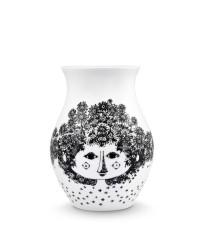 Bjørn Wiinblad Vase Felicia H18 cm. Sort