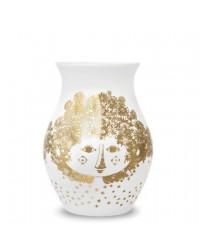 Bjørn Wiinblad Vase Felicia H18 cm. Guld