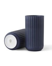 Lyngby Porcelæn Lyngbyvase 15 cm. Midnight Blue