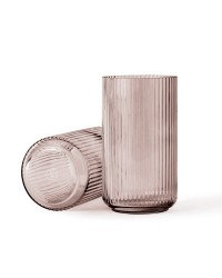 Lyngby Porcelæn Lyngbyvase 20 cm. Glas, Burgundy